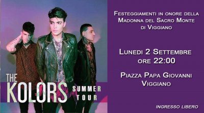 Estate 2019 - The Kolors in concerto